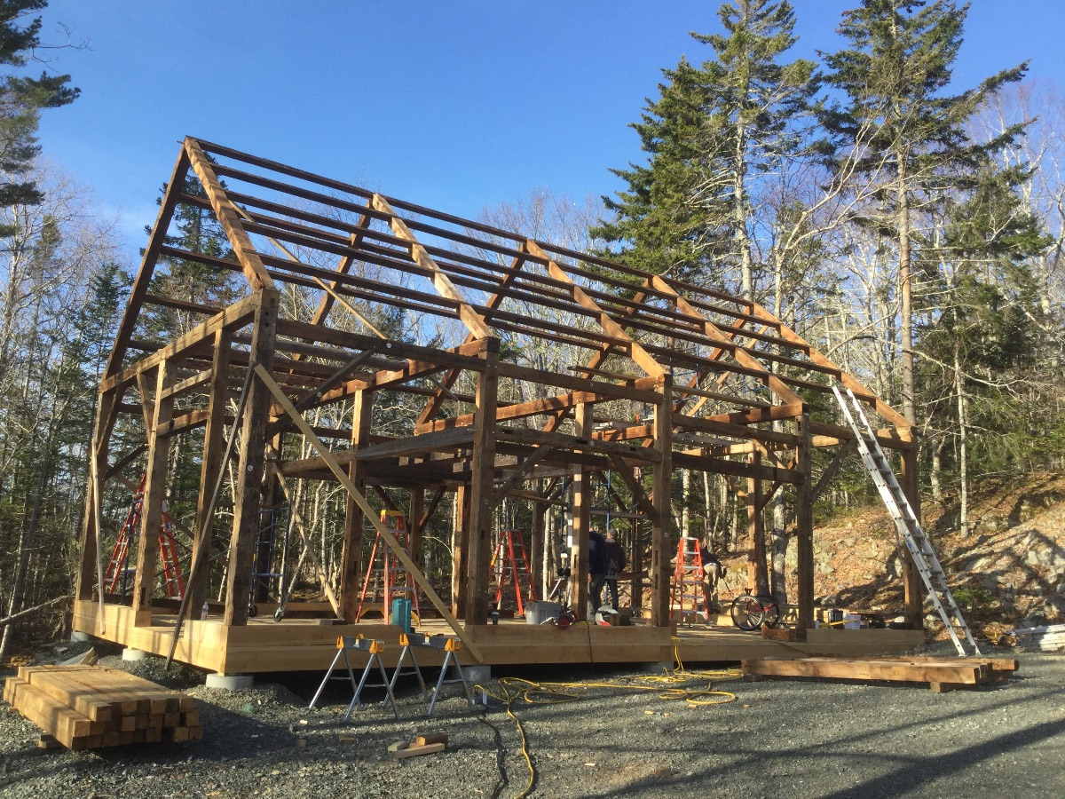 Maine Mountain Post & Beam Timber Frames - Antique and ...