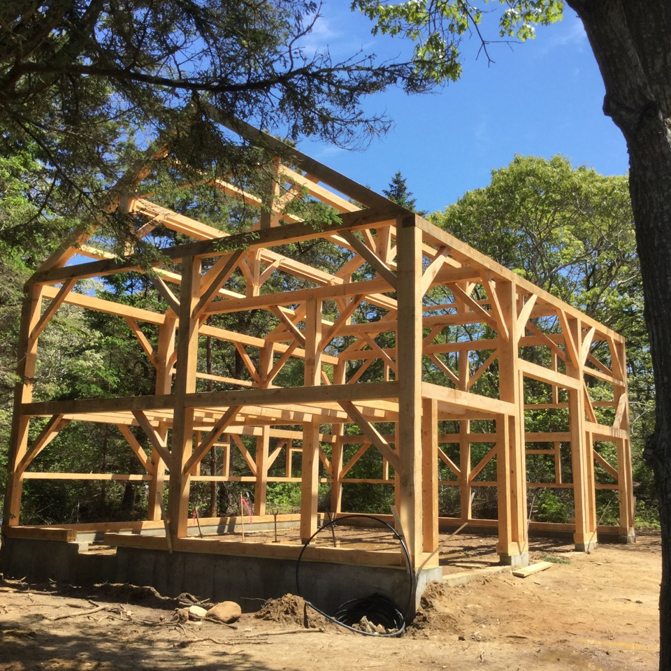 Maine Mountain Post Amp Beam Timber Frames Antique And