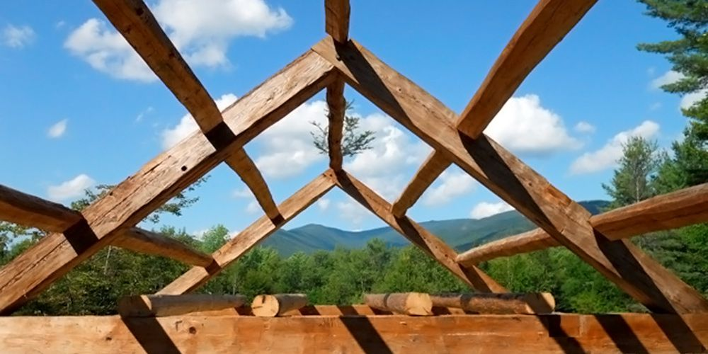 Antique and Custom Cut Timber Frames